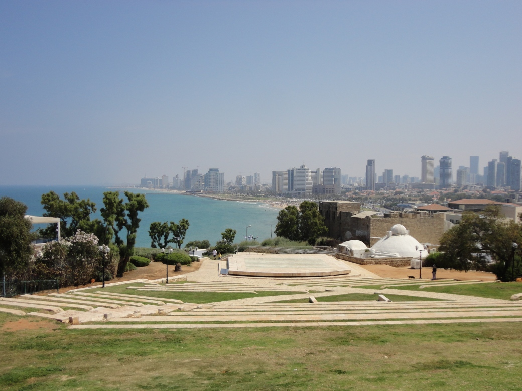 View of the city Tel Aviv