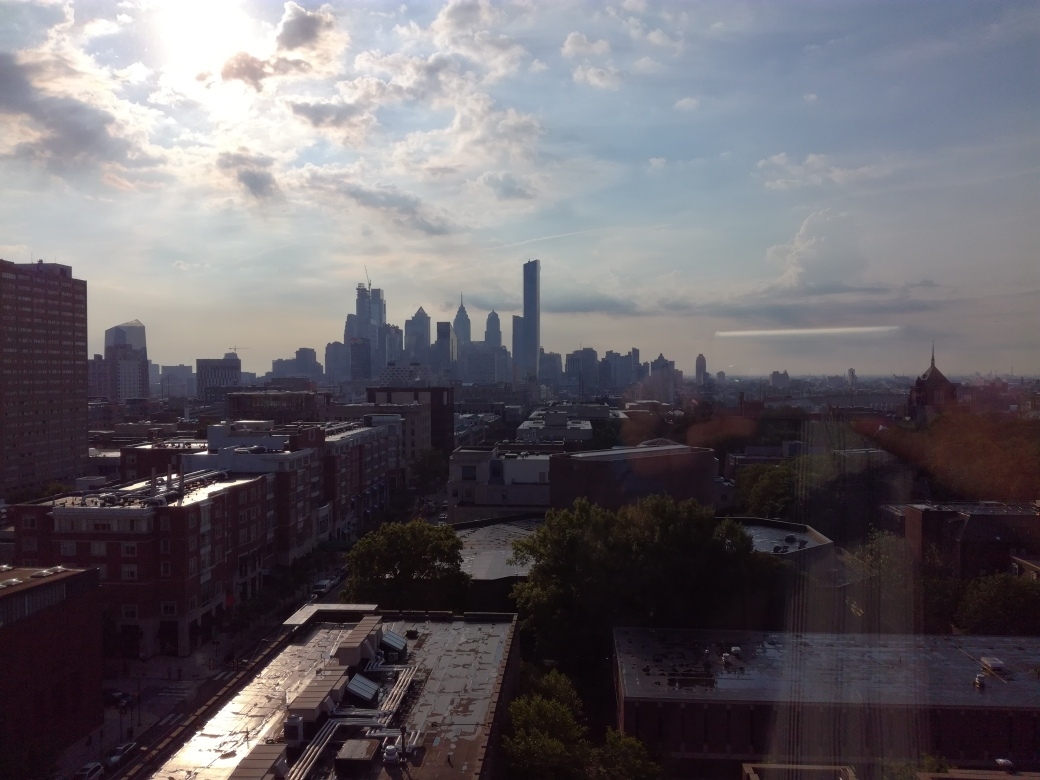 Philly city from Wharton