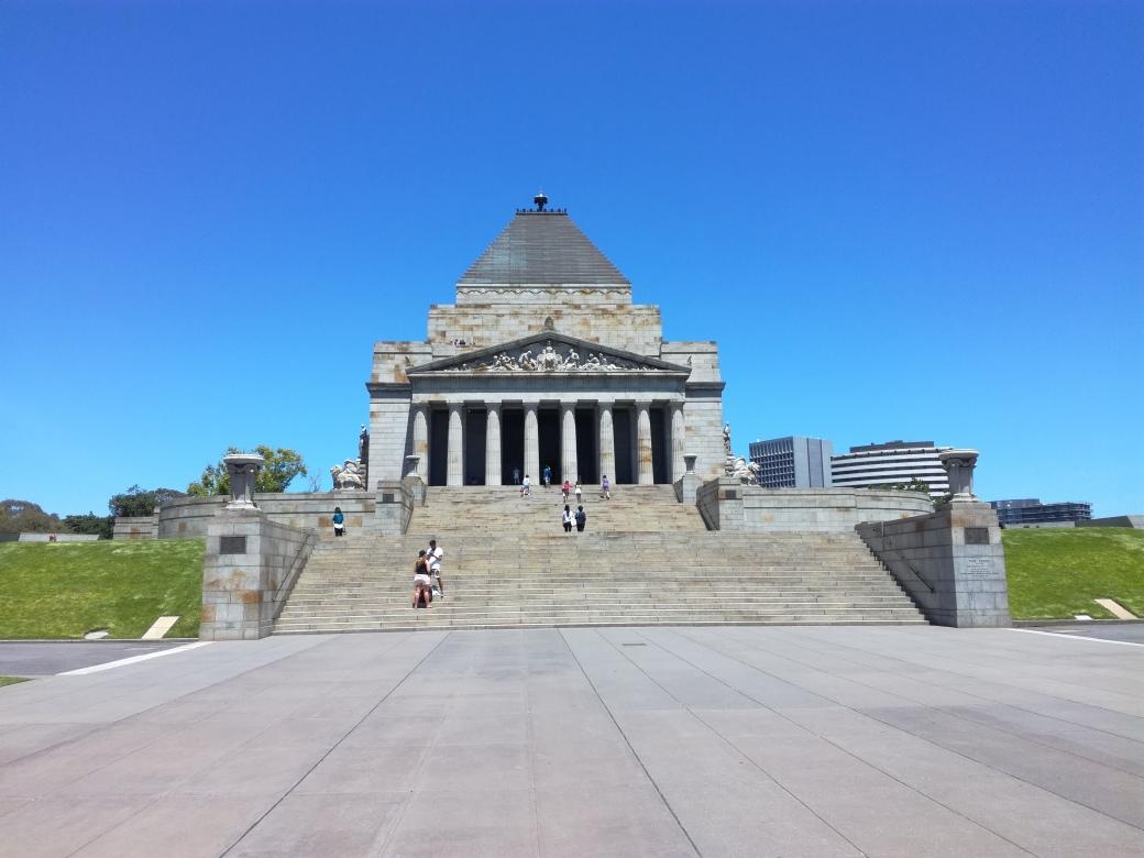 Shrine of remembrance.