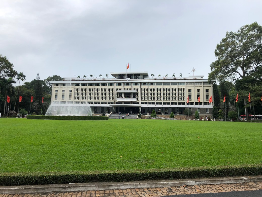 Ho Chi Minh Reunification palace